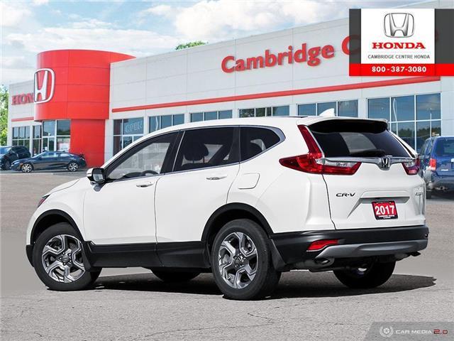 2017 Honda CR-V EX (Stk: 20017A) in Cambridge - Image 4 of 27