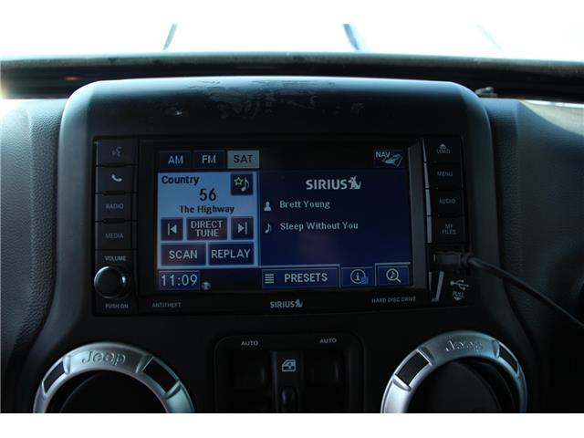 2012 Jeep Wrangler Unlimited 24V Call of Duty II (DISC) (Stk: P9183) in Headingley - Image 16 of 30