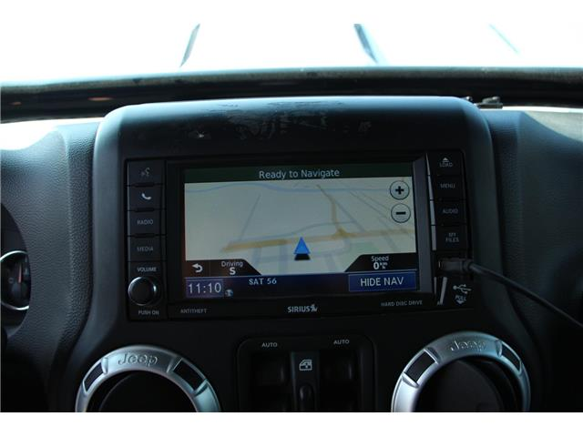 2012 Jeep Wrangler Unlimited 24V Call of Duty II (DISC) (Stk: P9183) in Headingley - Image 17 of 30