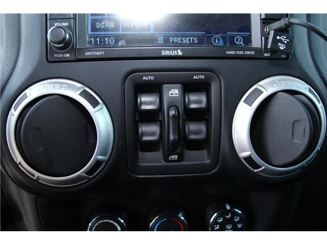 2012 Jeep Wrangler Unlimited 24V Call of Duty II (DISC) (Stk: P9183) in Headingley - Image 18 of 30