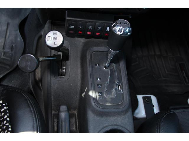 2012 Jeep Wrangler Unlimited 24V Call of Duty II (DISC) (Stk: P9183) in Headingley - Image 21 of 30