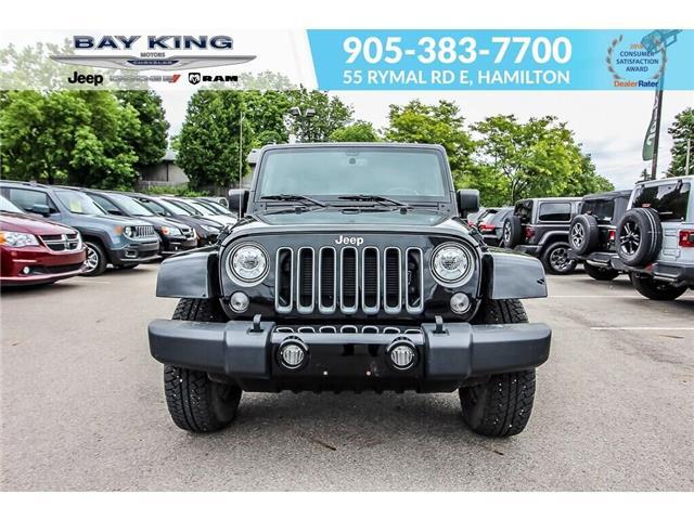 2018 Jeep Wrangler JK Unlimited Sahara (Stk: 6882R) in Hamilton - Image 2 of 19