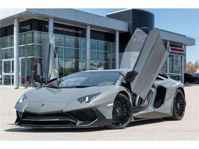 2017 Lamborghini Aventador SV|750 HP!|6.5L V12|1 OF 600|TWO TONE INTERIOR (Stk: 19HMS662) in Mississauga - Image 1 of 30