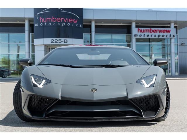 2017 Lamborghini Aventador SV|750 HP!|6.5L V12|1 OF 600|TWO TONE INTERIOR (Stk: 19HMS662) in Mississauga - Image 3 of 30