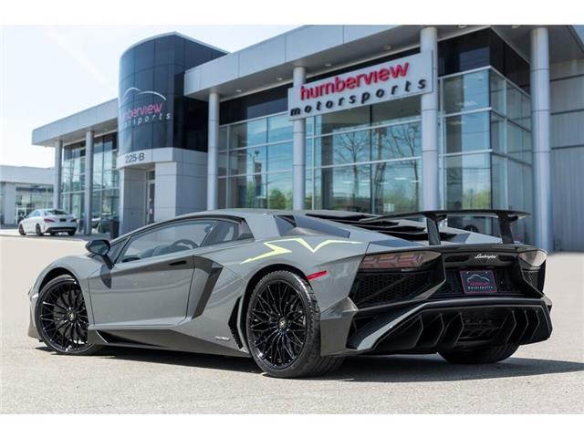 2017 Lamborghini Aventador SV|750 HP!|6.5L V12|1 OF 600|TWO TONE INTERIOR (Stk: 19HMS662) in Mississauga - Image 11 of 30