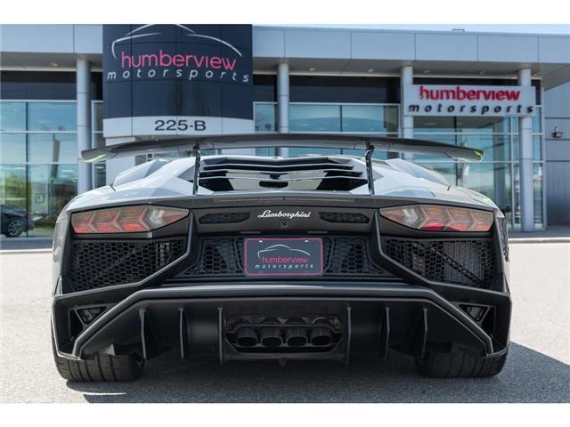 2017 Lamborghini Aventador SV|750 HP!|6.5L V12|1 OF 600|TWO TONE INTERIOR (Stk: 19HMS662) in Mississauga - Image 13 of 30