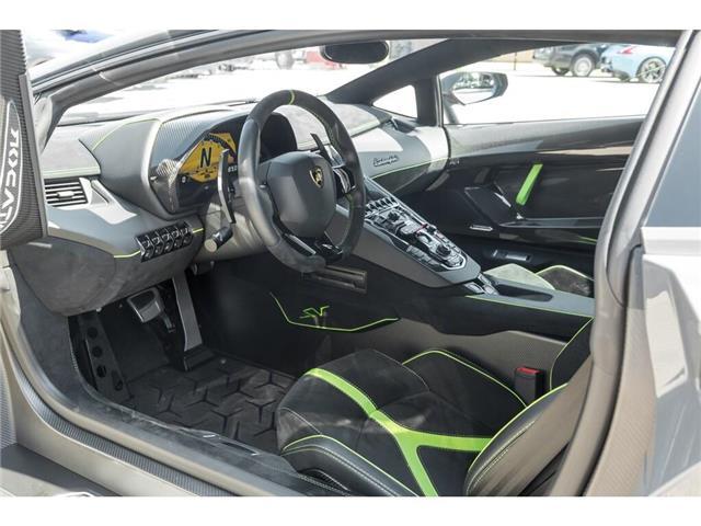 2017 Lamborghini Aventador SV|750 HP!|6.5L V12|1 OF 600|TWO TONE INTERIOR (Stk: 19HMS662) in Mississauga - Image 19 of 30