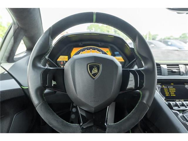 2017 Lamborghini Aventador SV|750 HP!|6.5L V12|1 OF 600|TWO TONE INTERIOR (Stk: 19HMS662) in Mississauga - Image 20 of 30