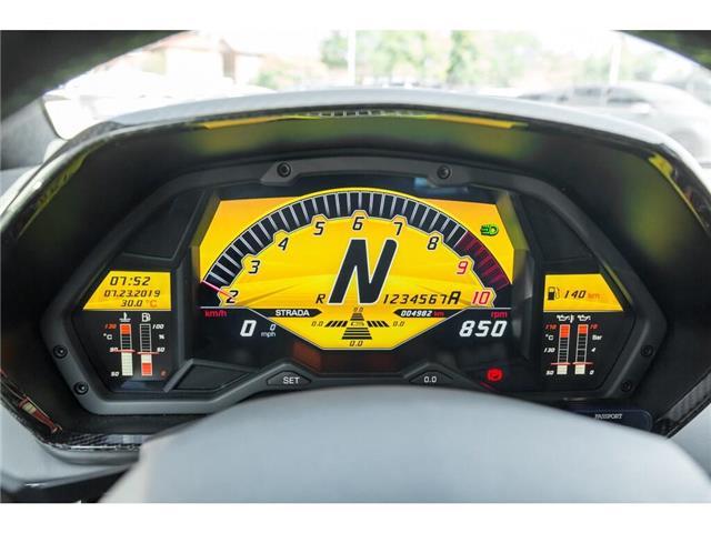 2017 Lamborghini Aventador SV|750 HP!|6.5L V12|1 OF 600|TWO TONE INTERIOR (Stk: 19HMS662) in Mississauga - Image 21 of 30
