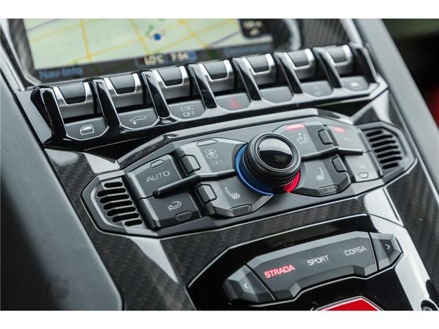 2017 Lamborghini Aventador SV|750 HP!|6.5L V12|1 OF 600|TWO TONE INTERIOR (Stk: 19HMS662) in Mississauga - Image 26 of 30
