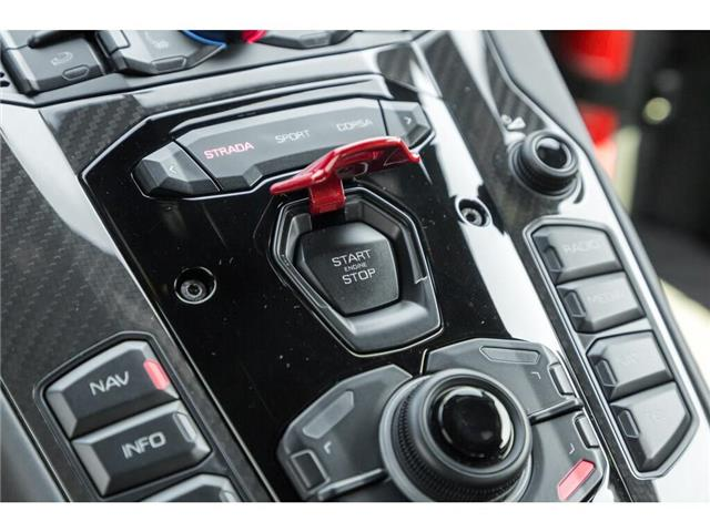 2017 Lamborghini Aventador SV|750 HP!|6.5L V12|1 OF 600|TWO TONE INTERIOR (Stk: 19HMS662) in Mississauga - Image 28 of 30