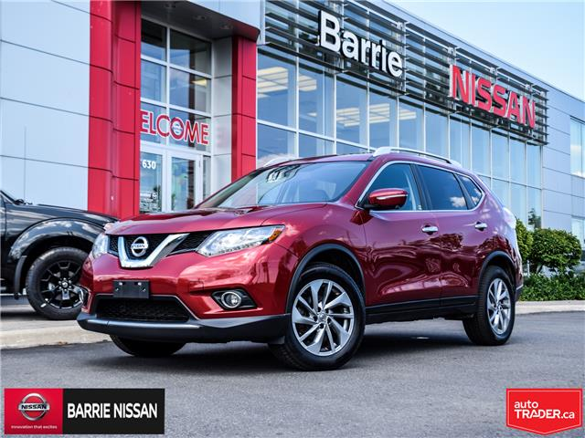 2015 Nissan Rogue SL (Stk: 19013A) in Barrie - Image 1 of 27