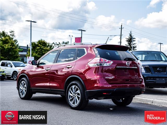 2015 Nissan Rogue SL (Stk: 19013A) in Barrie - Image 5 of 27