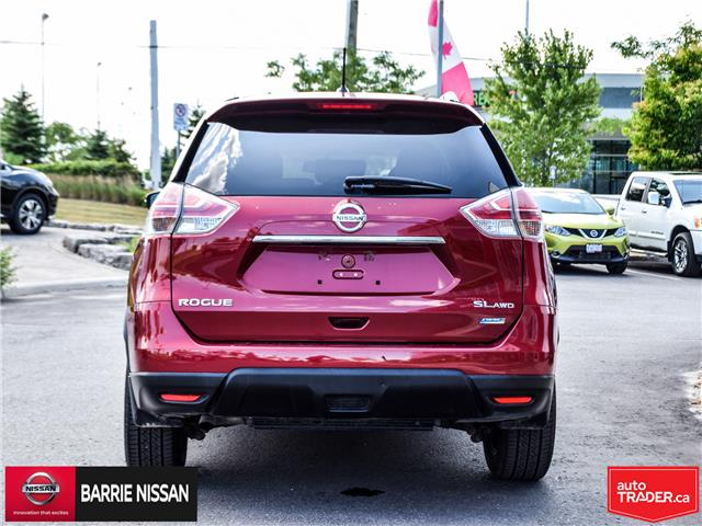 2015 Nissan Rogue SL (Stk: 19013A) in Barrie - Image 6 of 27