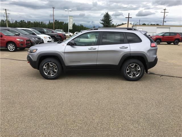 2019 Jeep Cherokee 27E Trailhawk (Stk: 19CK3211) in Devon - Image 1 of 14