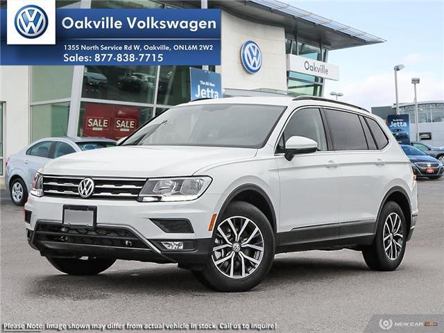 2019 Volkswagen Tiguan Comfortline (Stk: 21495) in Oakville - Image 1 of 23