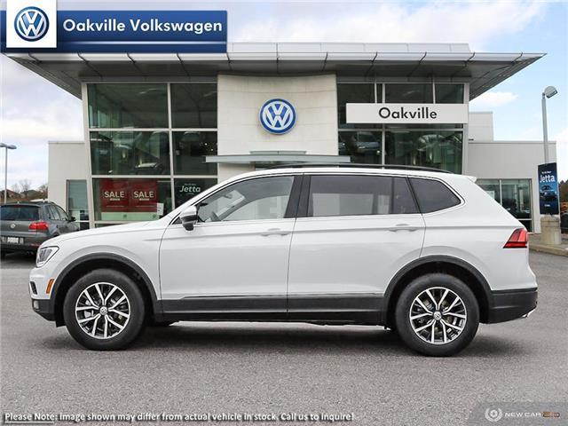 2019 Volkswagen Tiguan Comfortline (Stk: 21495) in Oakville - Image 3 of 23