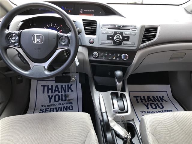 2012 Honda Civic LX (Stk: 19SB649A) in Innisfil - Image 9 of 17