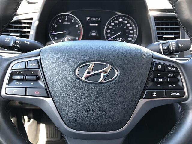 2018 Hyundai Elantra GLS-SUNROOF AND MUCH MORE.... (Stk: U3052) in Scarborough - Image 12 of 21