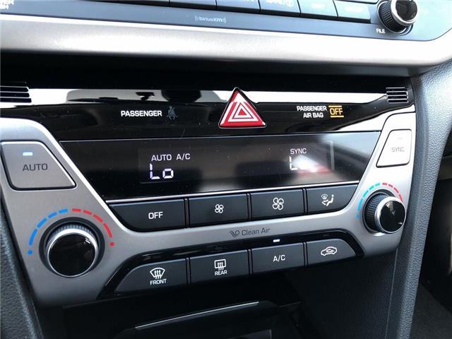 2018 Hyundai Elantra GLS-SUNROOF AND MUCH MORE.... (Stk: U3052) in Scarborough - Image 17 of 21