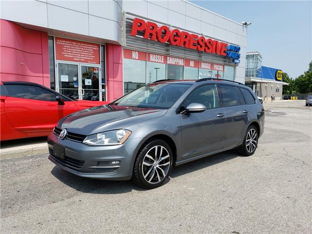 2016 Volkswagen Golf Sportwagon 1.8 TSI Comfortline (Stk: GM521525) in Sarnia - Image 1 of 21