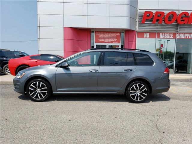 2016 Volkswagen Golf Sportwagon 1.8 TSI Comfortline (Stk: GM521525) in Sarnia - Image 3 of 21