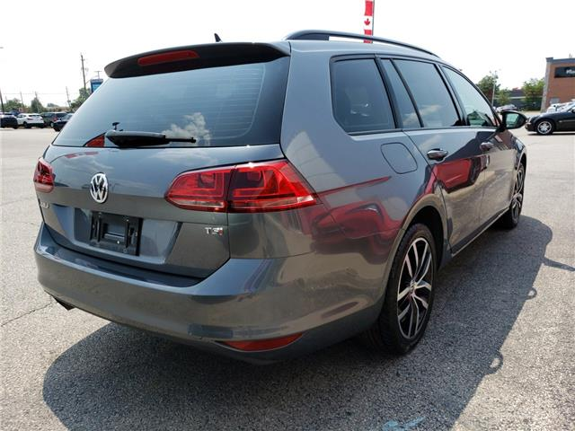 2016 Volkswagen Golf Sportwagon 1.8 TSI Comfortline (Stk: GM521525) in Sarnia - Image 6 of 21