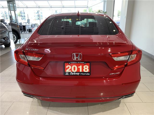 2018 Honda Accord Sport (Stk: 16322A) in North York - Image 7 of 21
