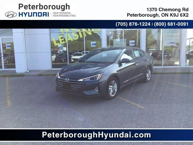 2020 Hyundai Elantra Preferred w/Sun & Safety Package (Stk: H12135) in Peterborough - Image 1 of 16