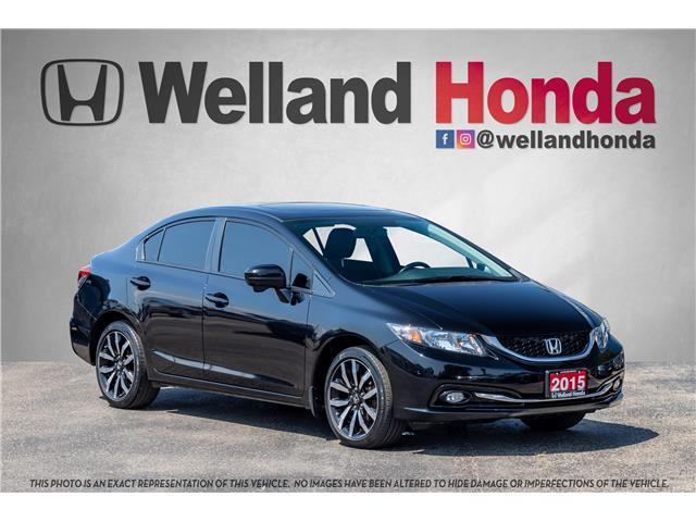 2015 Honda Civic Touring (Stk: U19322) in Welland - Image 1 of 19
