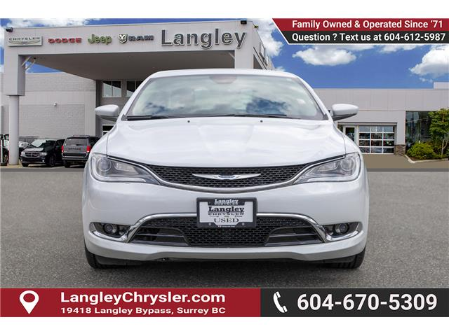 2015 Chrysler 200 C (Stk: EE909340B) in Surrey - Image 2 of 24