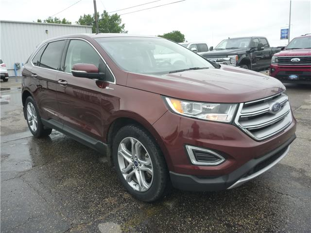 2016 Ford Edge Titanium (Stk: 9166A) in Wilkie - Image 1 of 21