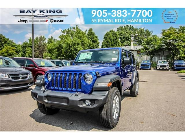 2019 Jeep Wrangler Unlimited Sport (Stk: 197654) in Hamilton - Image 1 of 21