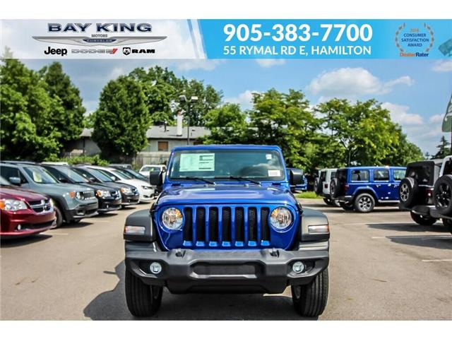 2019 Jeep Wrangler Unlimited Sport (Stk: 197654) in Hamilton - Image 2 of 21