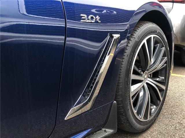 2019 Infiniti Q60 3.0t LUXE (Stk: 19Q6010) in Newmarket - Image 3 of 5