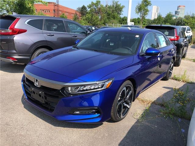 2019 Honda Accord Sport 1.5T (Stk: N5268) in Niagara Falls - Image 1 of 4
