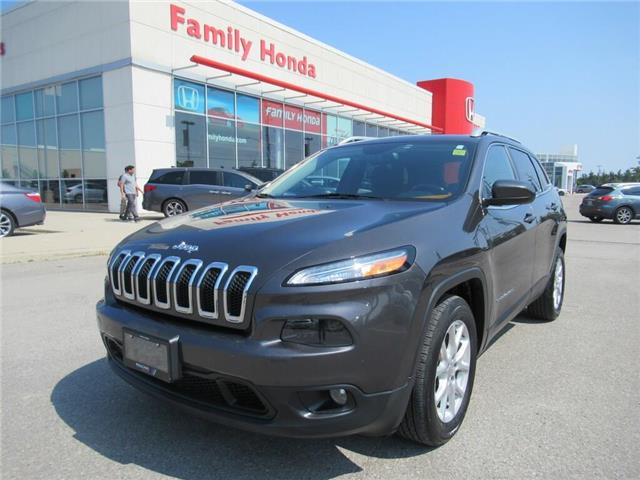 2015 Jeep Cherokee North, REVERSE CAMERA (Stk: 9505625A) in Brampton - Image 1 of 28