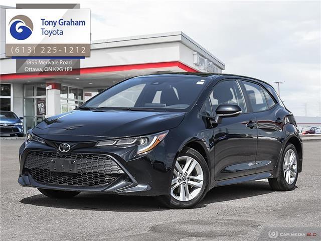 2019 Toyota Corolla Hatchback Base (Stk: U9141) in Ottawa - Image 1 of 27