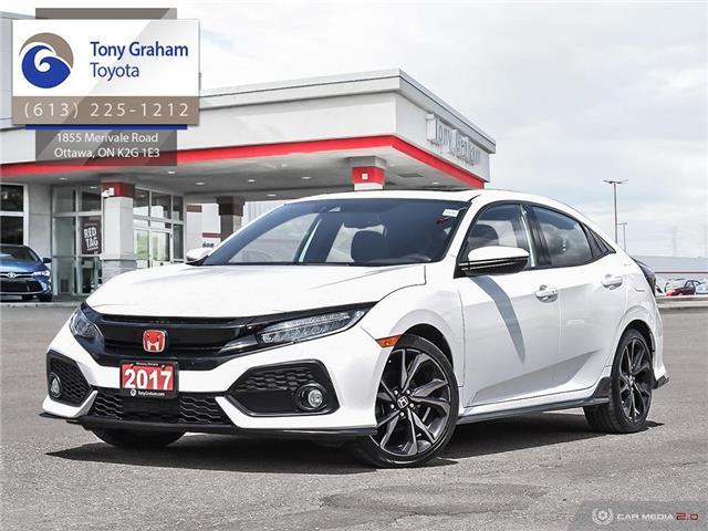 2017 Honda Civic Sport Touring (Stk: E7837A) in Ottawa - Image 1 of 28