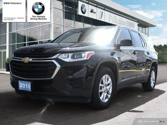 2018 Chevrolet Traverse LS (Stk: U0026B) in Sudbury - Image 1 of 21