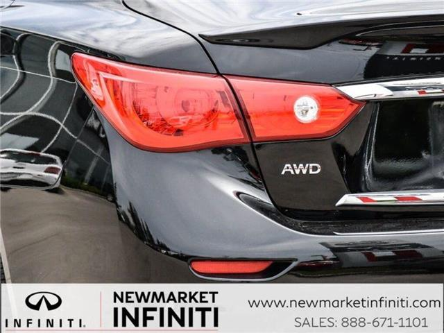 2017 Infiniti Q50 3.0t Red Sport 400 (Stk: 19Q5032A) in Newmarket - Image 8 of 29