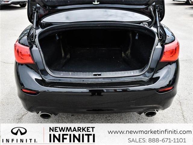 2017 Infiniti Q50 3.0t Red Sport 400 (Stk: 19Q5032A) in Newmarket - Image 10 of 29