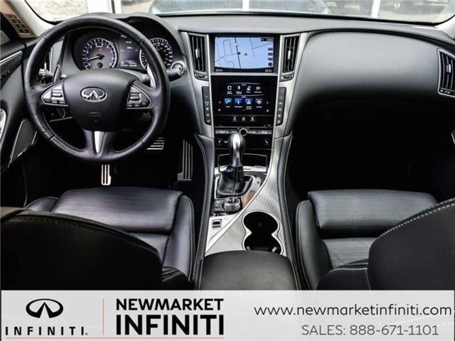 2017 Infiniti Q50 3.0t Red Sport 400 (Stk: 19Q5032A) in Newmarket - Image 17 of 29