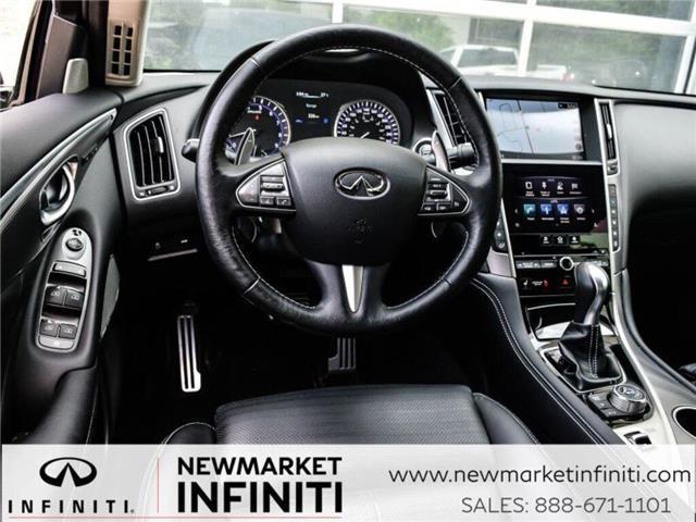 2017 Infiniti Q50 3.0t Red Sport 400 (Stk: 19Q5032A) in Newmarket - Image 19 of 29