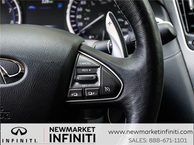 2017 Infiniti Q50 3.0t Red Sport 400 (Stk: 19Q5032A) in Newmarket - Image 21 of 29