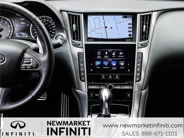 2017 Infiniti Q50 3.0t Red Sport 400 (Stk: 19Q5032A) in Newmarket - Image 23 of 29