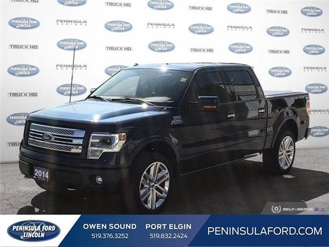 2014 Ford F-150 Limited (Stk: 19FE69A) in Owen Sound - Image 1 of 25
