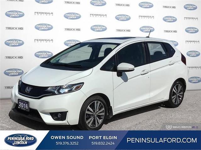2016 Honda Fit EX-L Navi (Stk: 1828) in Owen Sound - Image 1 of 26