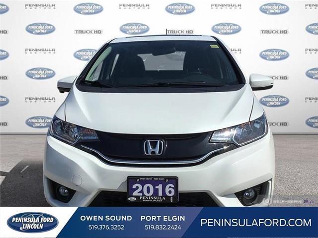 2016 Honda Fit EX-L Navi (Stk: 1828) in Owen Sound - Image 2 of 26
