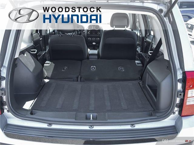 2015 Jeep Patriot Sport/North (Stk: TN19061A) in Woodstock - Image 24 of 26